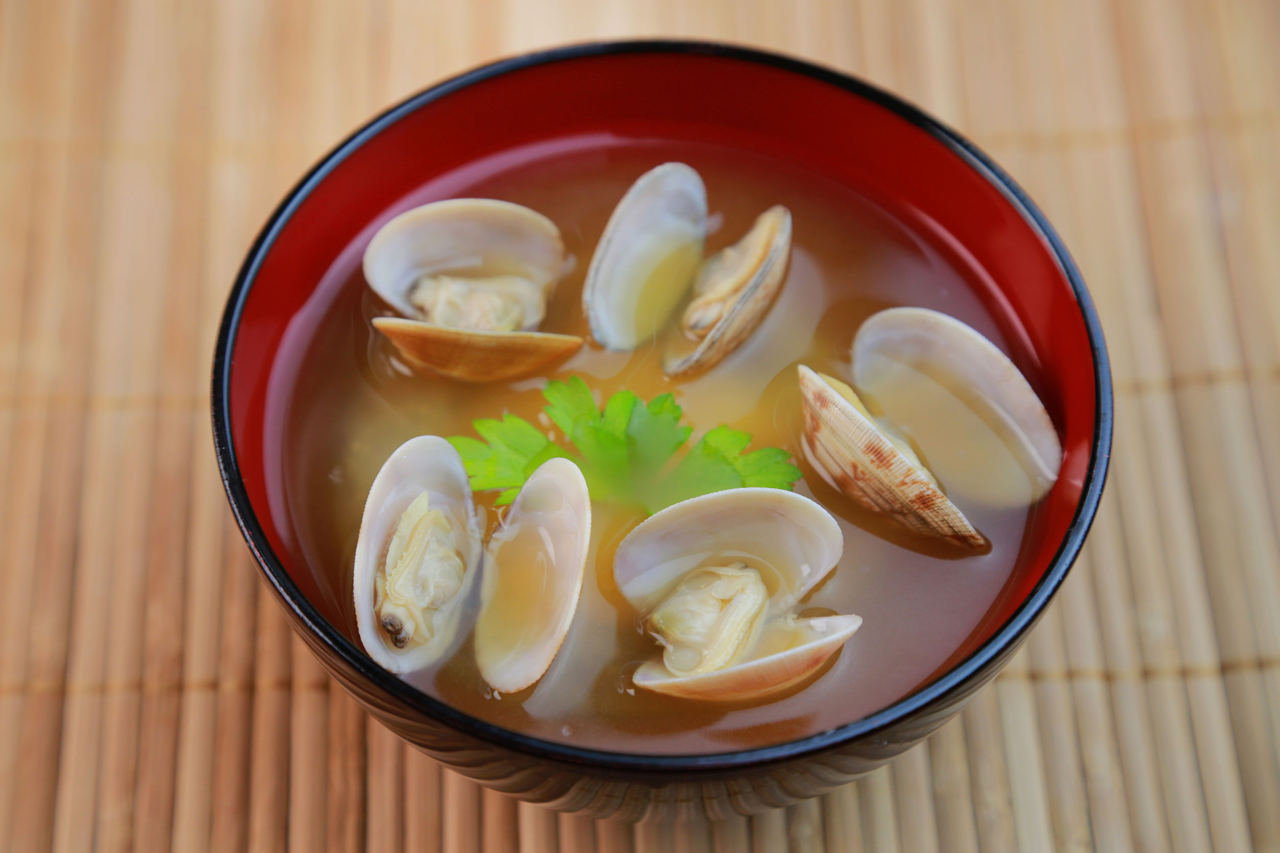 yasuhiroamano150300423.jpg - miso soup of the short-necked clam / japanese food