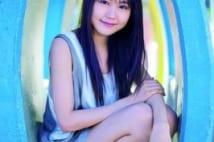 内気な少女が女優に変わる 18歳美少女・有村架純を微笑み撮
