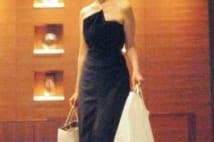 ジバンシーのドレス(セール品)を着たフジ・阿部知代アナ