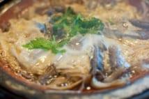 落合監督地元名物の「柳川鍋」
