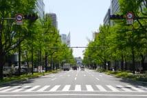 美しい大阪の街並みを体現する御堂筋。その昔はたった6m幅だった
