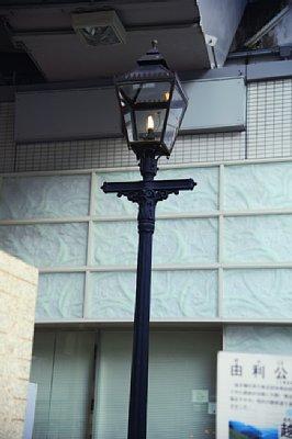 銀座で見つけた古いもの 明治7年設置ガス灯や京橋の親柱等newsポストセブン