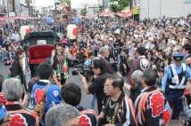 能年玲奈 あまちゃんロケ地の秋祭に参加して観客13.8万人