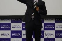 「転職フェア」で出世のコツについて語った杉村太蔵氏