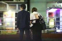 武豊&お天気アナと深夜のツーショット