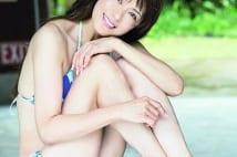 「奇跡すぎる49歳」山田佳子さん 最新ビキニ姿を撮り下ろし