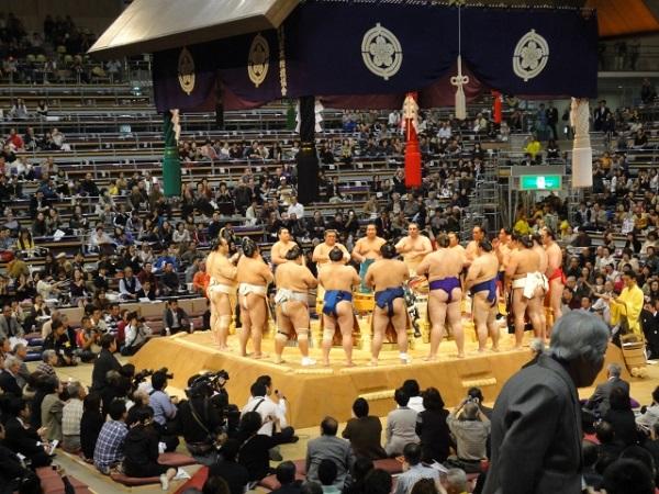 日本の国技には独特の慣習がある?