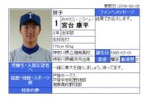 東大エース145キロ左腕「十分プロで通用する」と谷沢健一氏