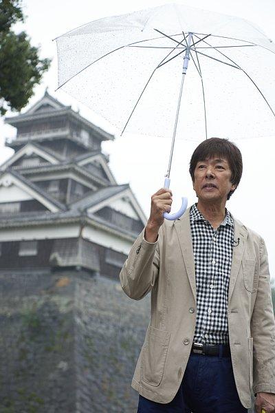 『おさんぽジャパネット』収録のため、震災の爪痕が残る熊本城を訪問