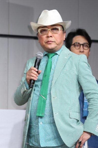 アデランス「フリーダム」発表会に登場したドン小西氏