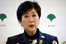 小池百合子氏、「政界渡り鳥」否定 関与した人が権力者になる