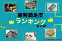 2016年度「顧客満足度ランキング」まとめ by NEWSポストセブン
