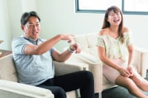 元日ハム・西崎幸広、娘・莉麻に第二の具志堅用高化を期待