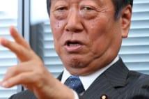 小沢一郎氏 自民党政治は小泉・安倍時代に完全に変化