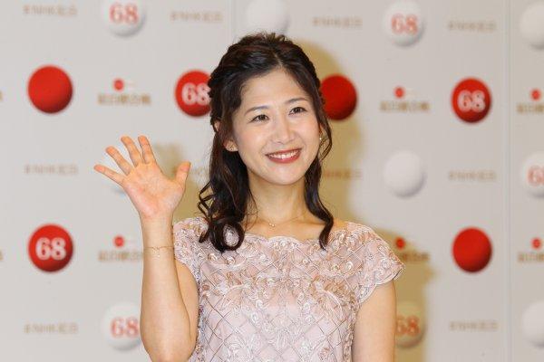 紅白総合司会の大役を務める桑子アナ(写真:ロケットパンチ)