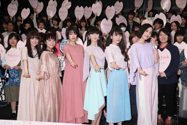 広瀬すずとperfumeが ちはやふる 最新作舞台挨拶に登場 Newsポスト