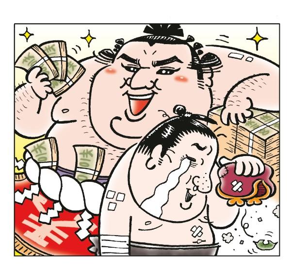 番付1枚で年収1600万円が0円に転落 力士の恐ろしい現実|NEWSポストセブン