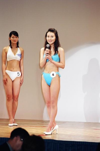 金子恵美は2004年度のファイナリストだった