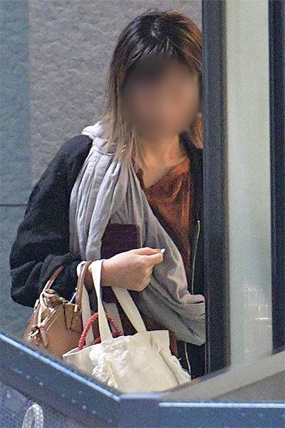 大島優子似の美女