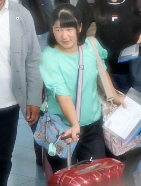 愛子さまは約3週間の英国滞在となる
