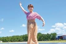 青森放送・猪股南アナ 世界大会で優勝した「一輪車の少女」