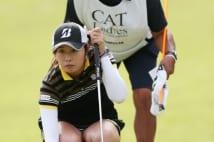 女子ゴルフの新星・大里桃子 今後を左右するパパとの関係