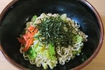木梨憲武のインスタント麺「油そば風」アレンジレシピ