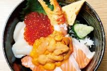 海鮮丼、玉子焼、おだんご… 豊洲市場の絶品グルメ
