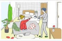 ライター夏生さえりが妄想! 理想の間取りvol.1「付き合って3カ月の恋人たちが住む家編」