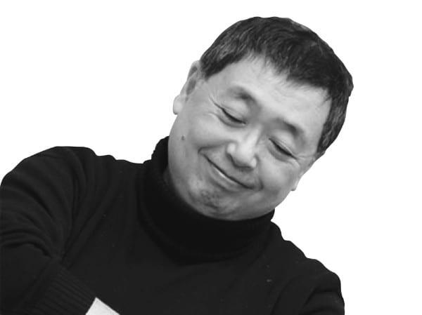 まんが原作者の大塚英志氏
