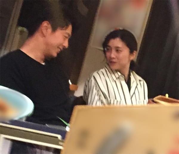 竹内結子さんと中林大樹の結婚前の焼き鳥デートシーン(2019年1月)
