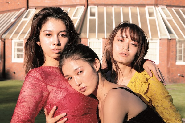結城モエ、高尾美有、松井りなの3人
