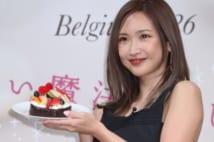 紗栄子、GODIVAのイベントで見せた笑顔