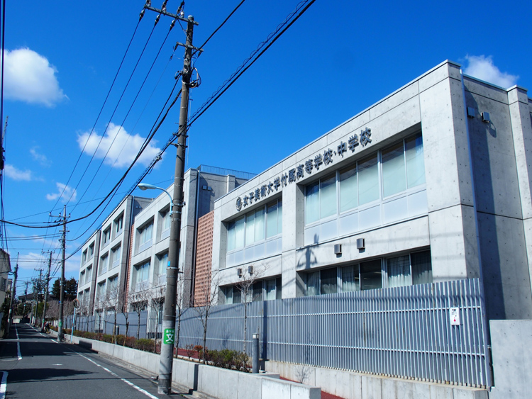 東京・杉並区内にある女子美術大学付属高等学校・中学校
