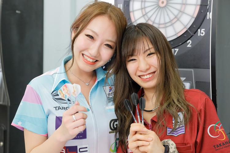 姉妹でプロの熊谷麻音選手(姉/写真左)と鹿内麻友選手(妹)
