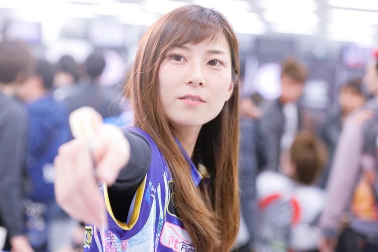 年間チャンピオンを目指す実力派の田村友乃選手