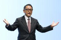 豊田章男社長 コロナ禍の株主総会で見せた涙芸と感謝力