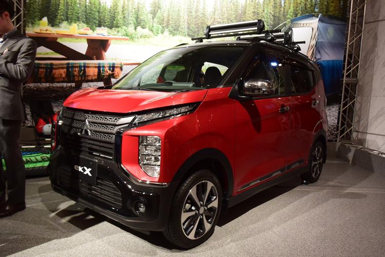 三菱自動車の「ekクロス」