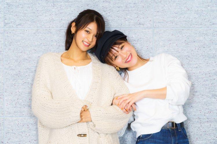 10代の頃からの親友だというモデルの東野佑美と鈴木奈々