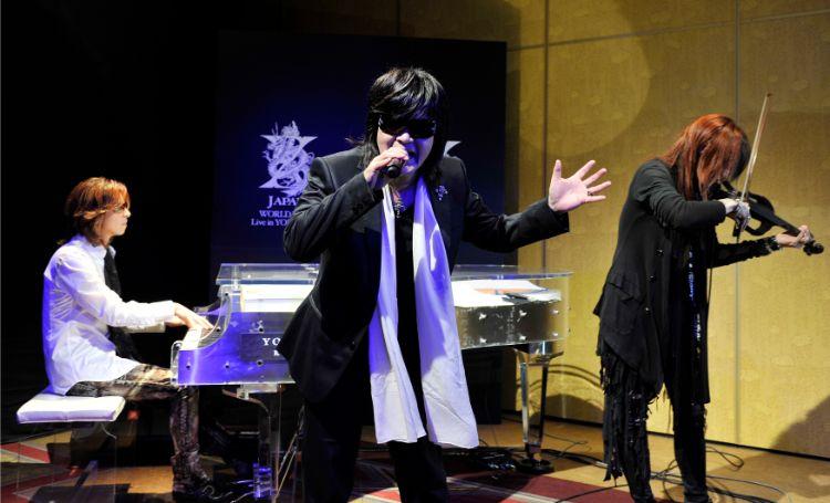 日本文化が禁止されていた韓国でX JAPANが大流行したのはなぜか(時事通信フォト)