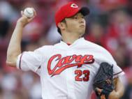 薮田の昨シーズンの登板数は9試合(時事通信フォト)
