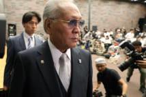 ボクシング連盟の山根明・元会長(時事通信フォト)