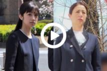 【動画】小倉優子、井川遥、丸川珠代…美人ママたち 名門小学校での入学式姿