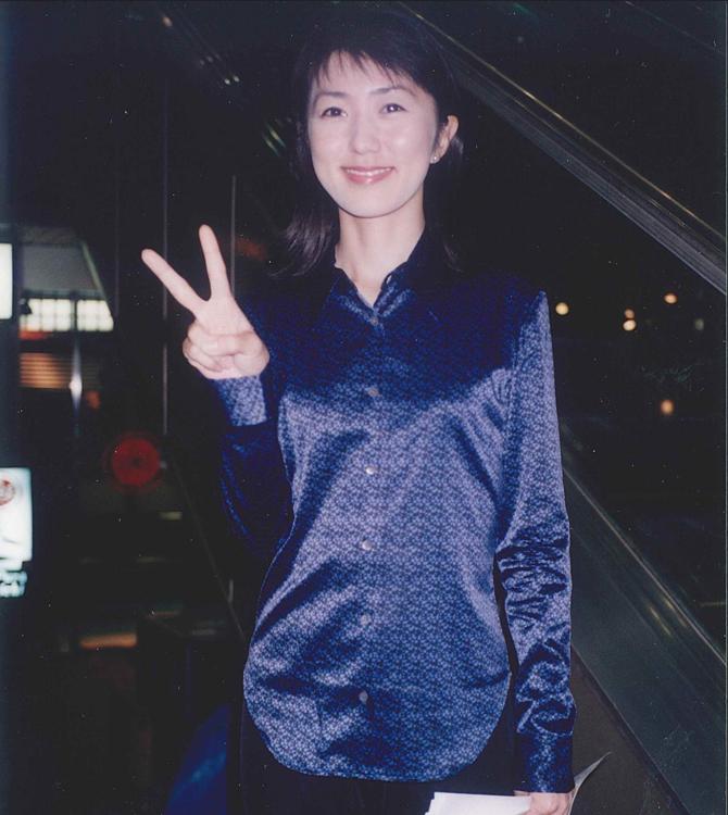 佐々木恭子、『会社対抗のど自慢大会』にて(1996年フジテレビ入社)