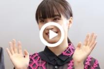 日本航空の「NHK連続テレビ小説『なつぞら』特別塗装機お披露目会」に出席した、ヒロイン役の広瀬すずさん(羽田空港)
