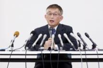 明石市長に再選された泉房穂氏(時事通信フォト)