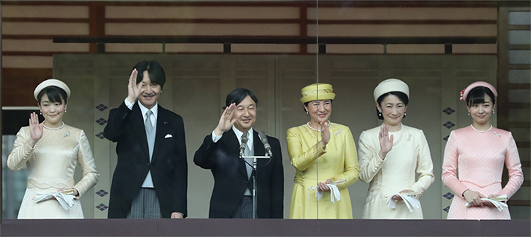一般参賀での紀子さまのドレス「雅子さまと同系色」に驚き|NEWS