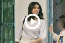 【動画】長澤まさみ、深夜の美容室通い 風になびく髪が美しい…!