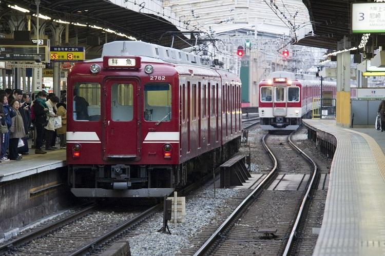 近鉄の鮮魚列車は現存する唯一の行商専用列車(時事通信フォト)