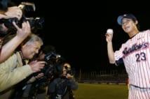 試合後、無人となった記者席で事件は起きていた(時事通信フォト)